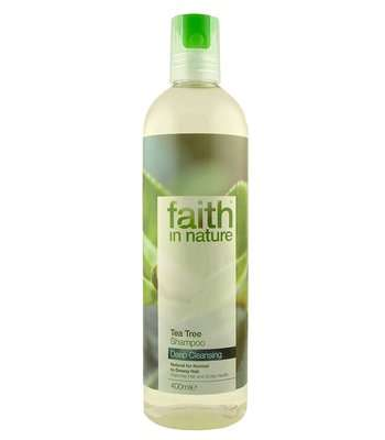 Faith in Nature Tea Tree Shampoo, 250ml
