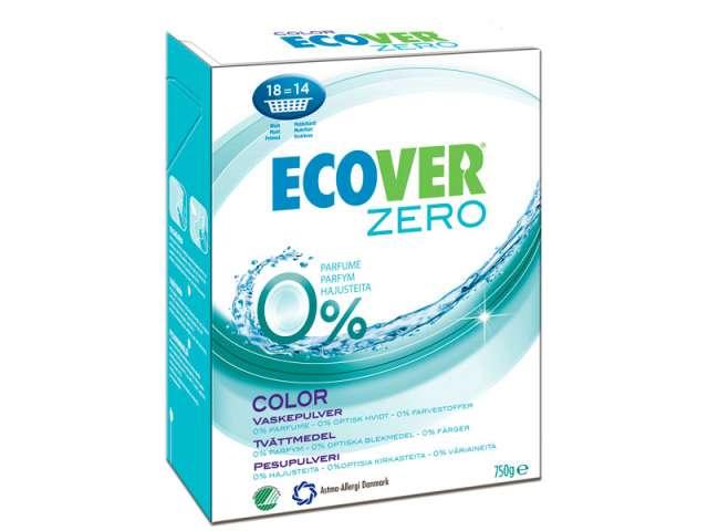 Ecover Zero Vaskepulver for farget tøy