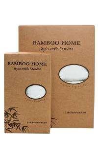 Bambus badehåndklær - Grey