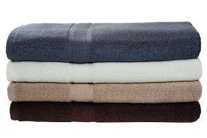 Bambus badehåndklær - White
