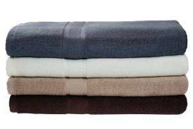 Bambus håndhåndklær - Chockolate