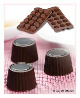 Konfektform i silikon - små praliner